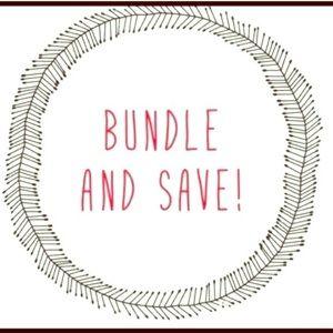 Bundle and save more!!